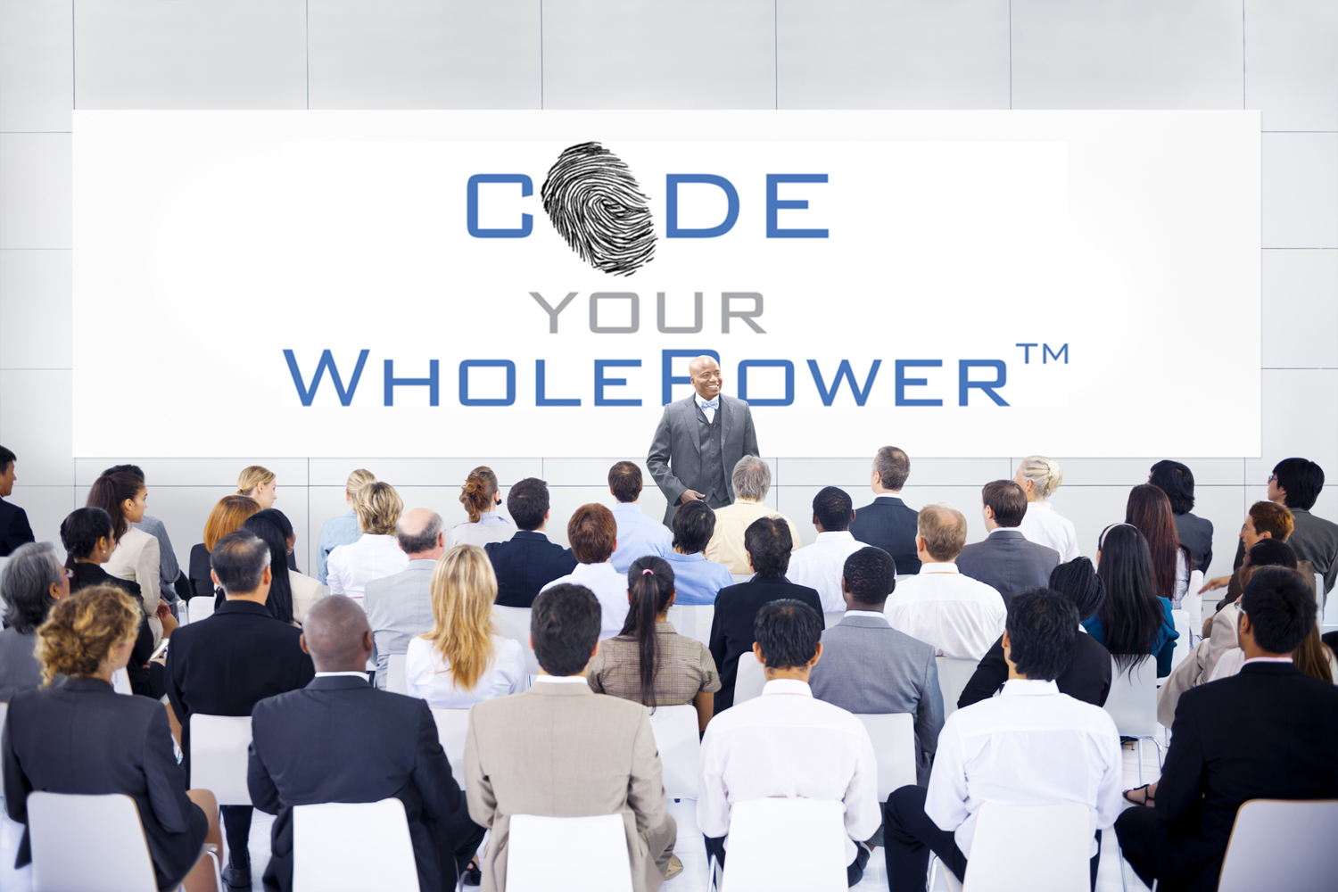 wholepower topics courtland warren large group of business people in presentation